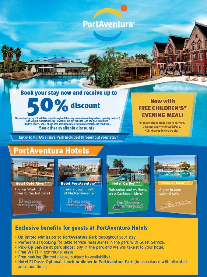 PortAventura Offers