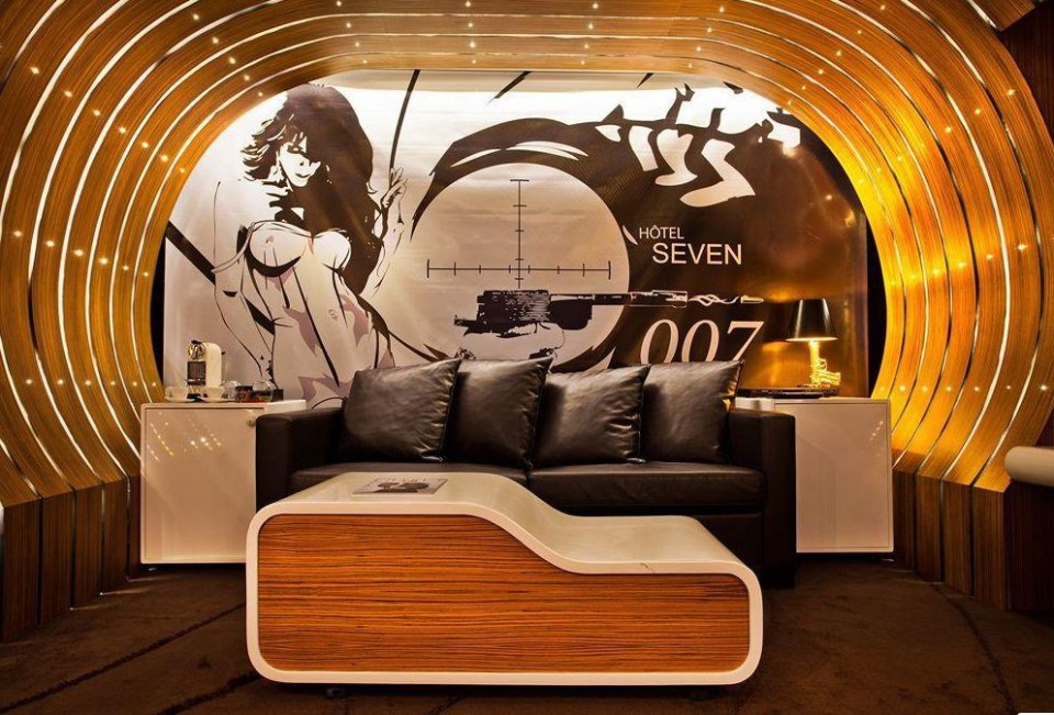 Friday Five Fun Themed Hotel Rooms TravelRepublic Blog - 10 star hotel rooms