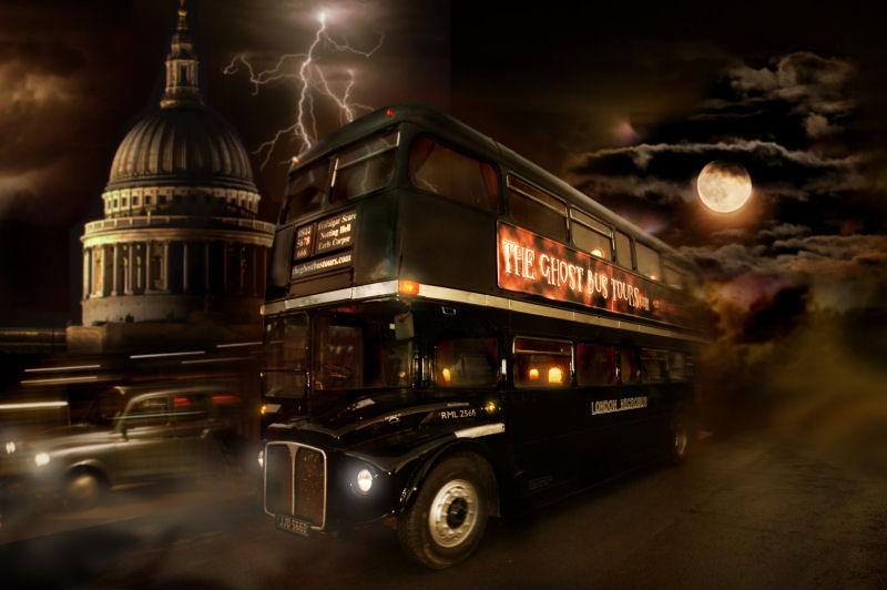 Halloween - Ghost Bus Tours - dayvisitsuk