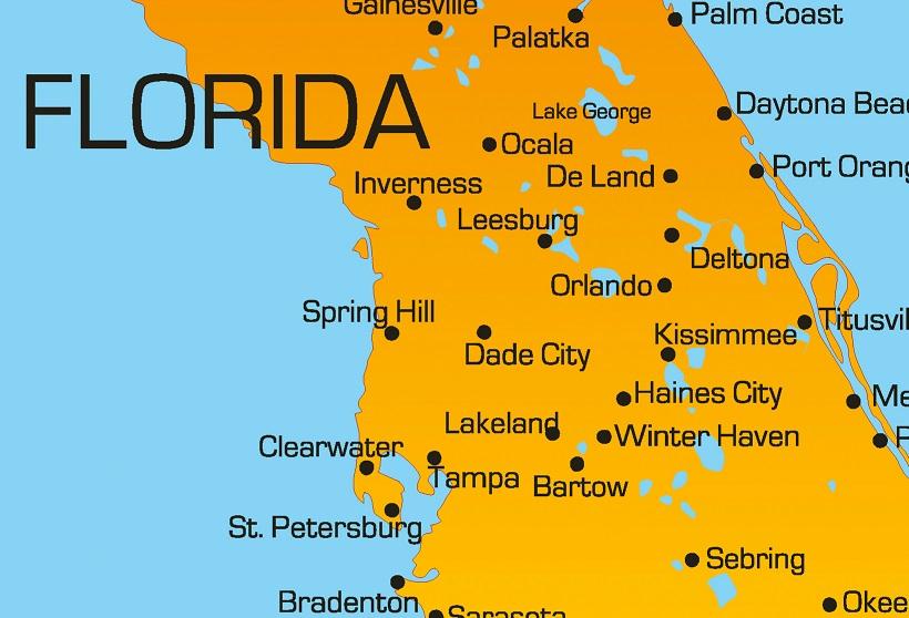 Kissimmee Florida Map.Kissimmee Florida The Gateway To Fun Travelrepublic Blog