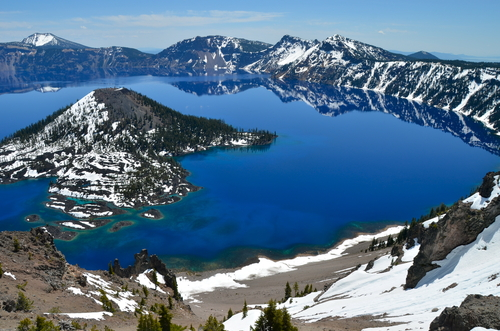 Crater Lake Oregon, USA
