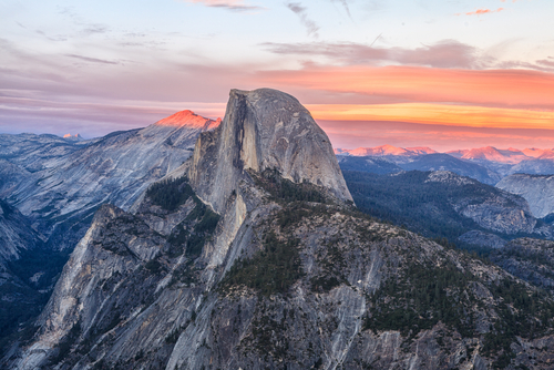 Glacier Point Yosemite National Park, USA