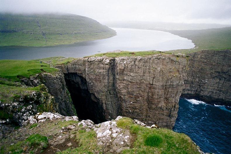 Lake Sorvágsvatn, Faroe Islands