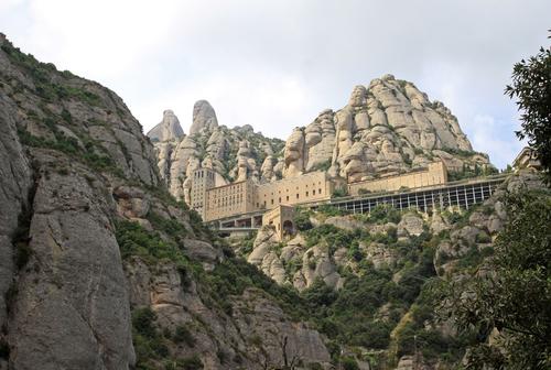 Monastery of Montserrat, Spain