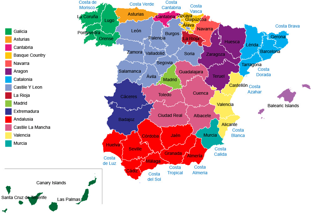 The 17 Wonderful Regions of Spain Uncovered | Travel Republic