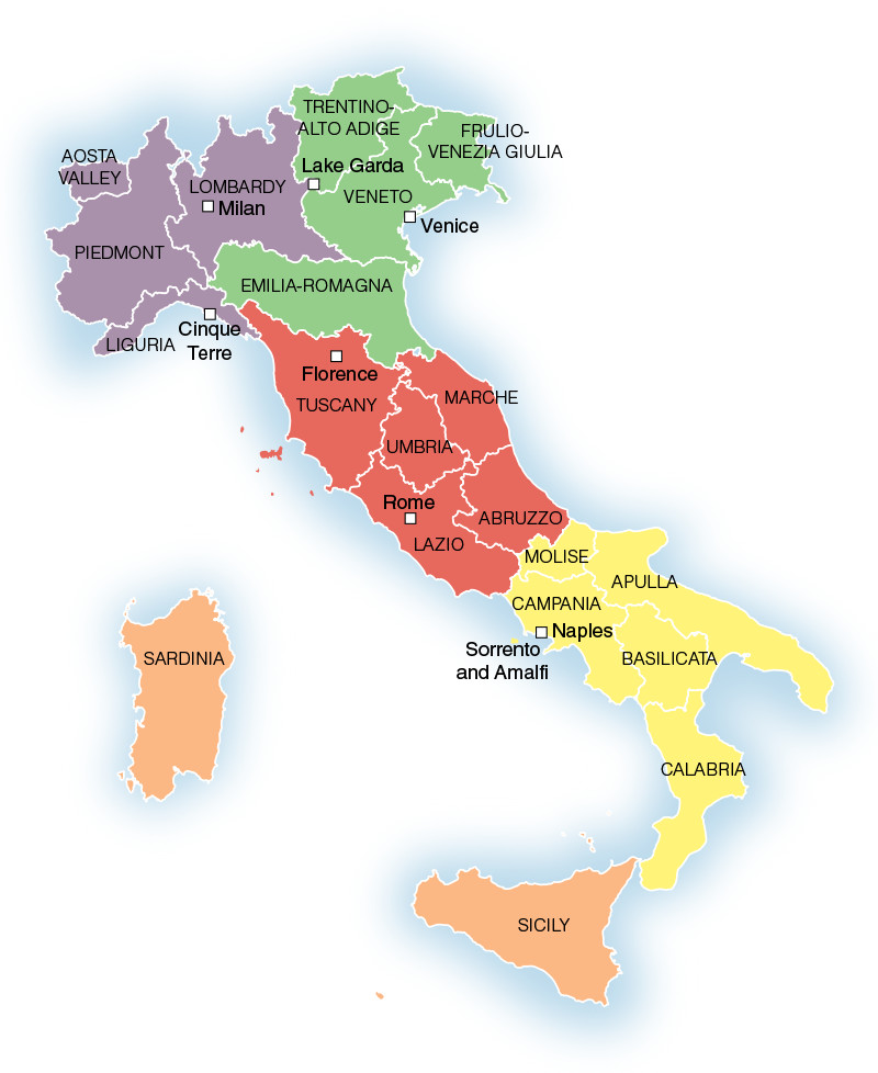 5 Regions Of Italy Uncovered Travelrepublic Blog