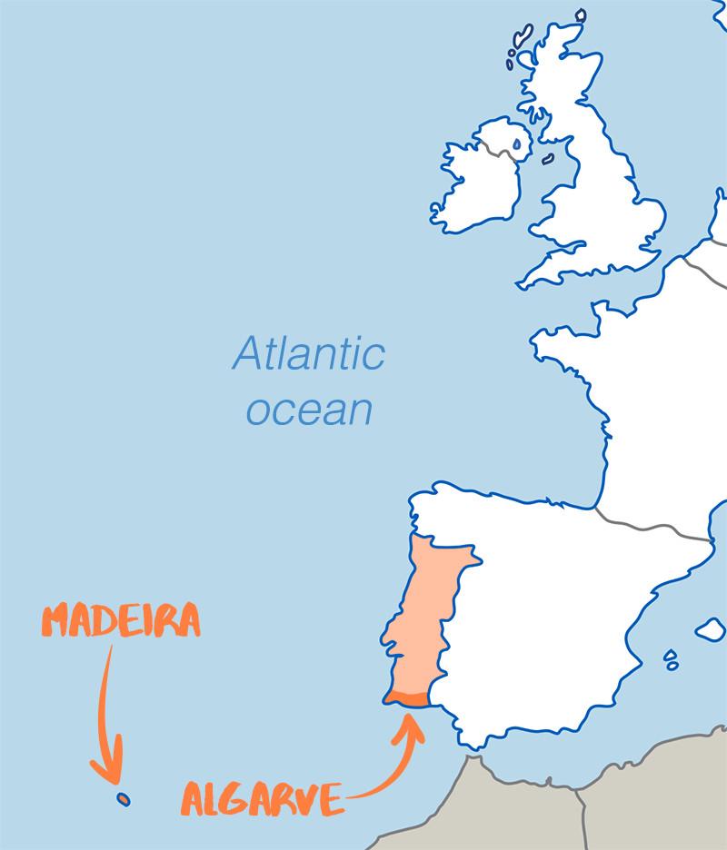 Popular In Portugal Algarve And Madeira TravelRepublic Blog - Portugal map madeira