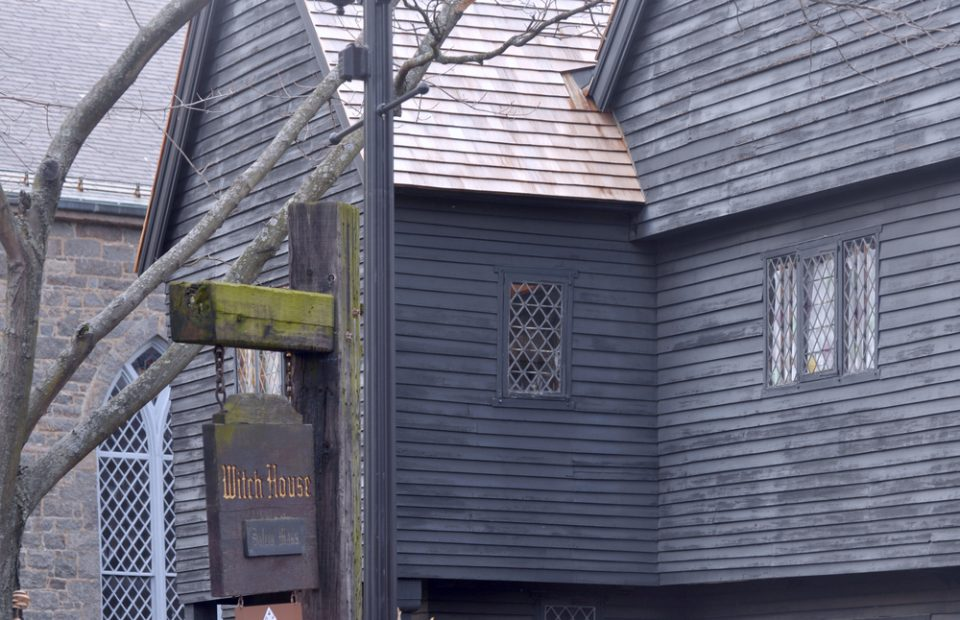 Salem witch house