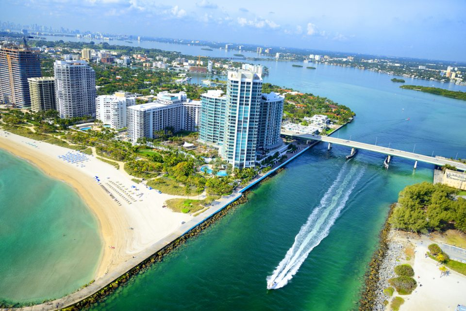 Biscayne Bay, Miami, Florida - Usa.