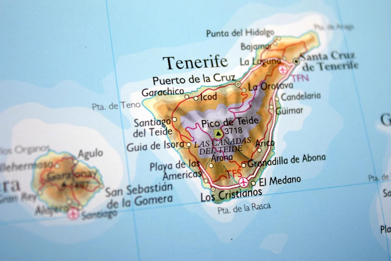 Tenerife Uncovered TravelRepublic Blog - Tenerife on a world map