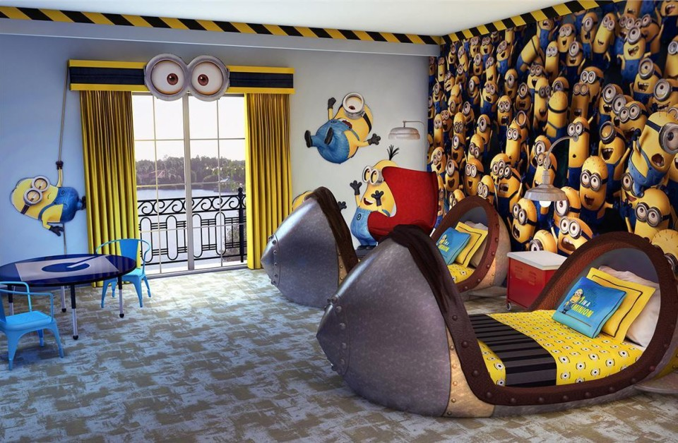 Fun Rooms friday five- 5 fun themed hotel rooms - [travelrepublic blog]