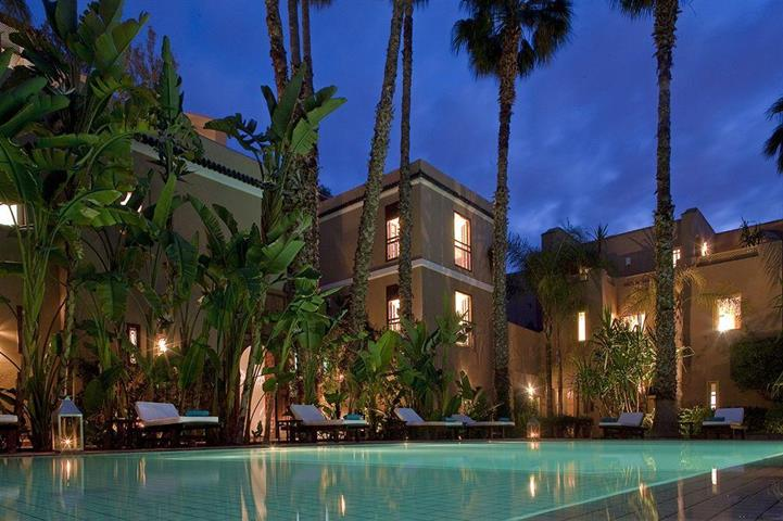 Friday five 5 affordable luxury hotels in marrakech for Le jardin de la medina