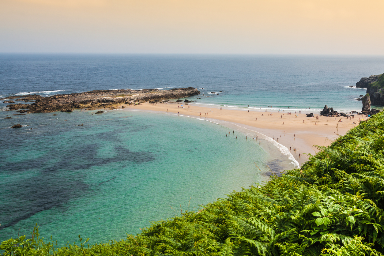 The 17 wonderful regions of spain uncovered travel republic beach of pechon cantabria spain publicscrutiny Image collections
