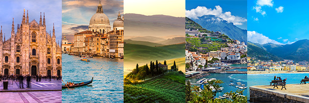 5 Regions of Italy Uncovered