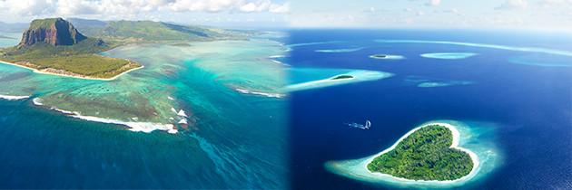 Tropical Paradise: Mauritius And The Maldives
