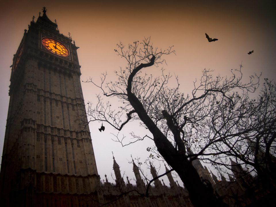 Big Ben at Halloween