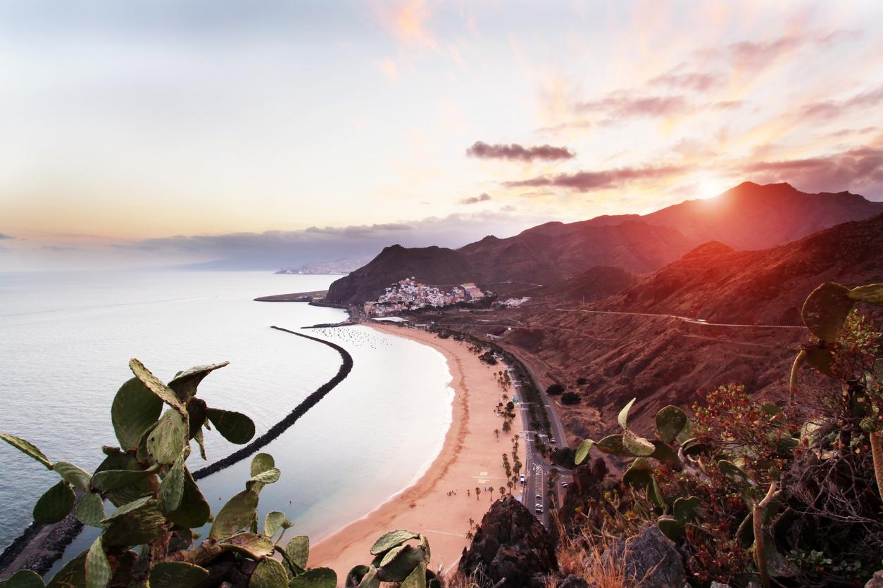 Playa de Las Teresitas, Tenerife, Canary Islands