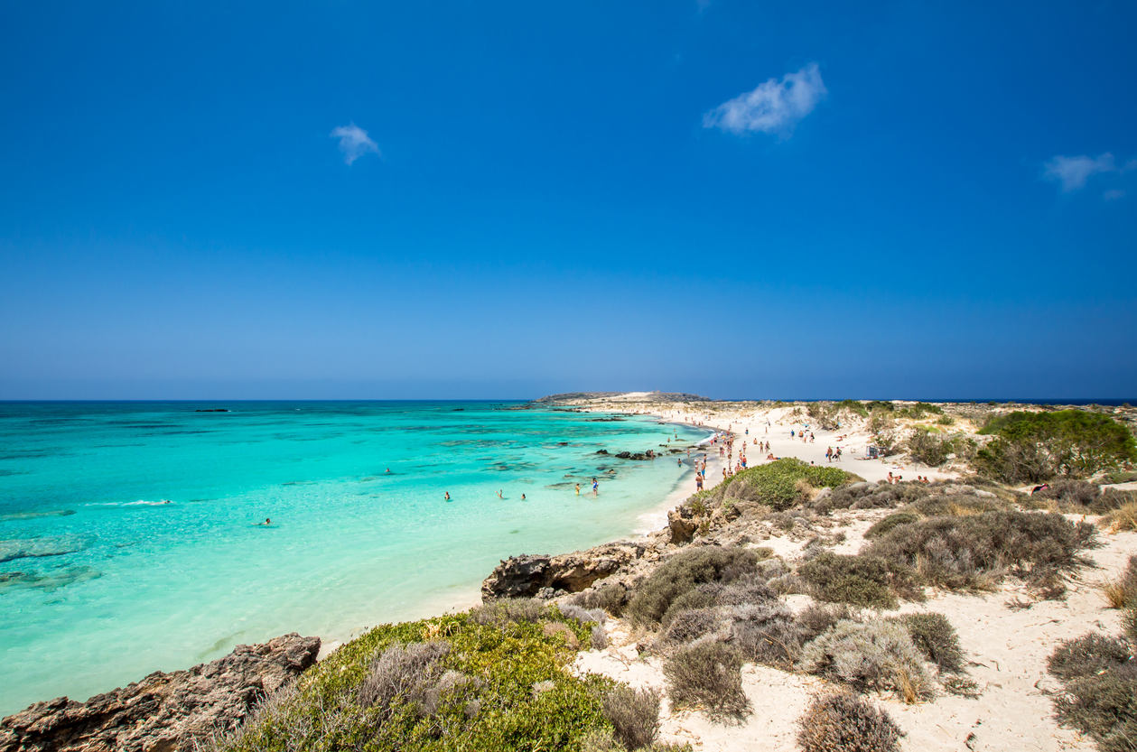 Elafonissi Lagoon - Crete