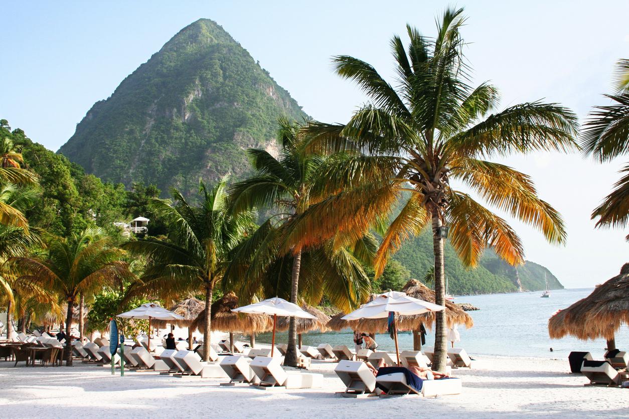 Jalousie Beach - St. Lucia