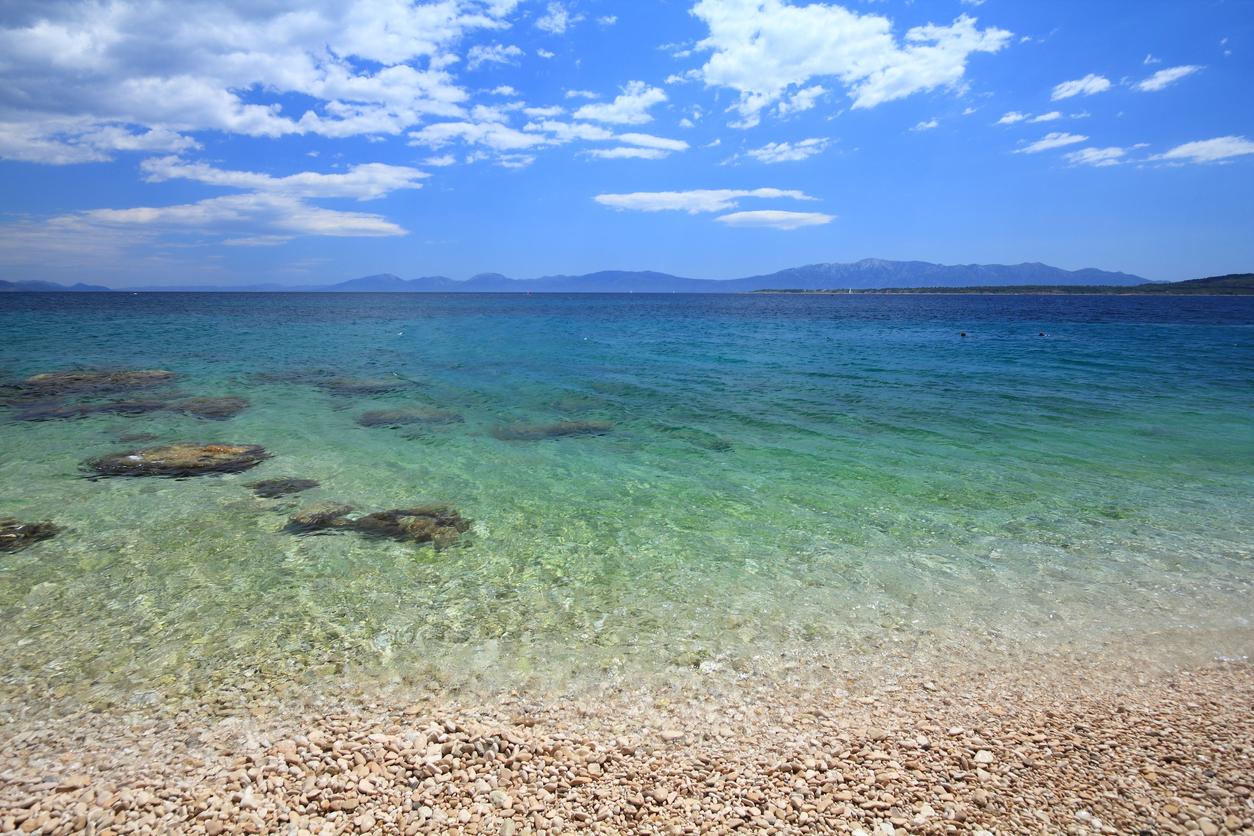 Zivogosce Beach, Croatia