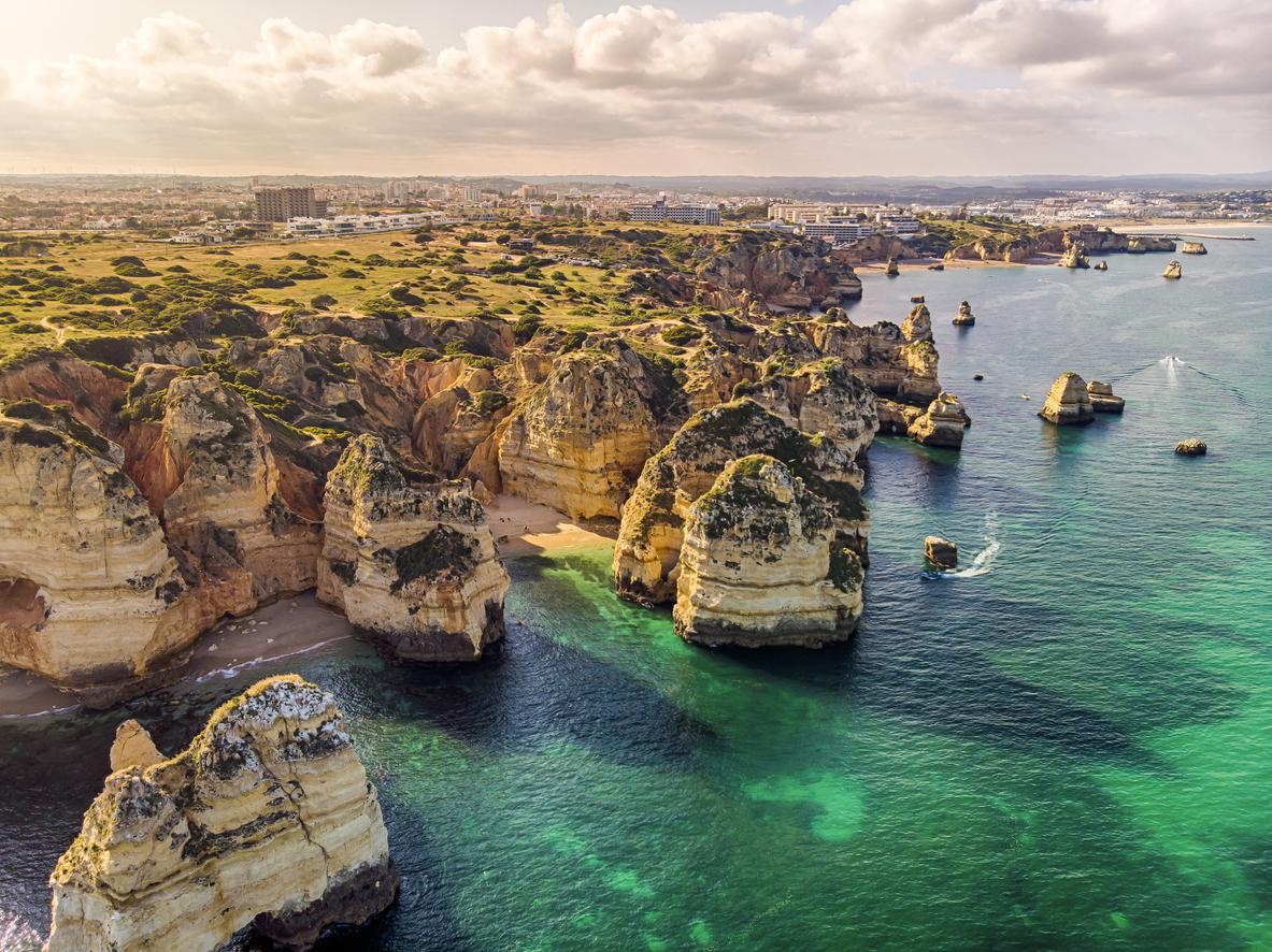 Ponta da Piedade Cliffs, Algarve, Portugal