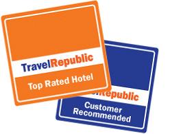 Example hotel award badges